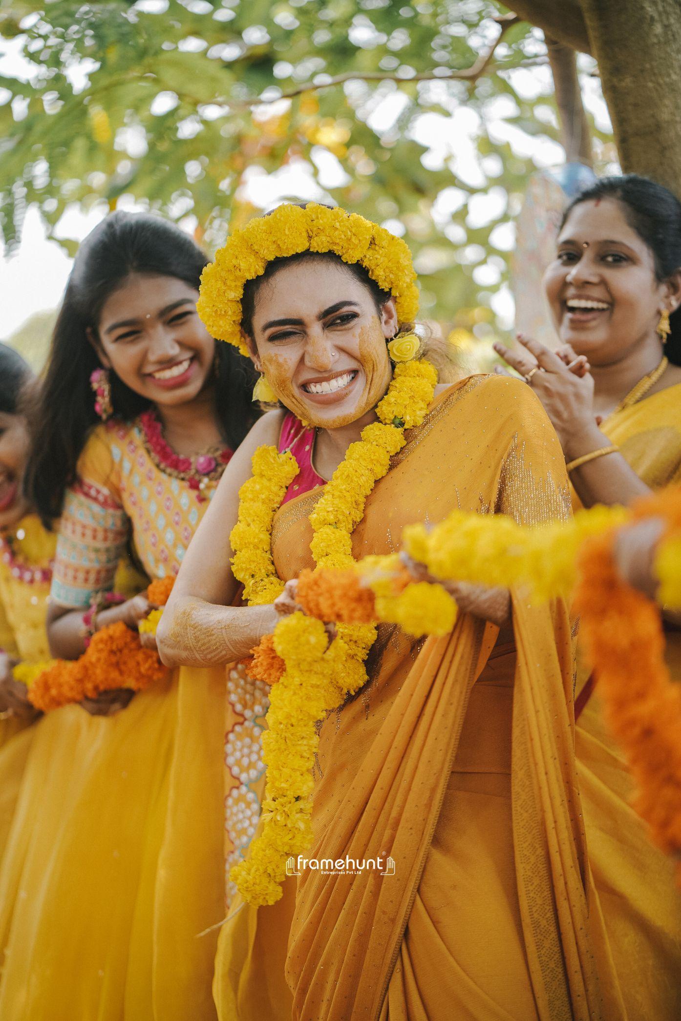 Haldi ceremony event photos