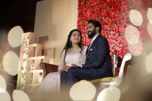 Kerala Wedding Reception Event Photo